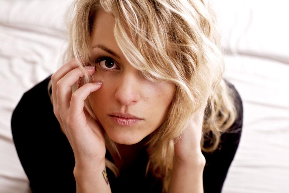 Portrait Frau blond